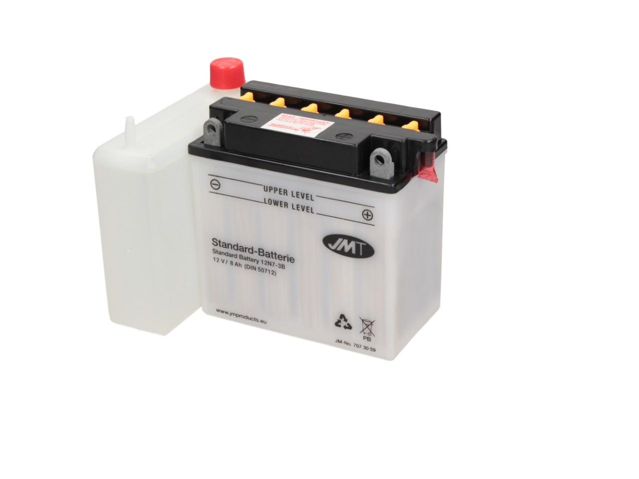 Batterie Standard JMT 12V 7AH - Elektrik Batterie Batterie Fahrzeugbezogen JMT Standard