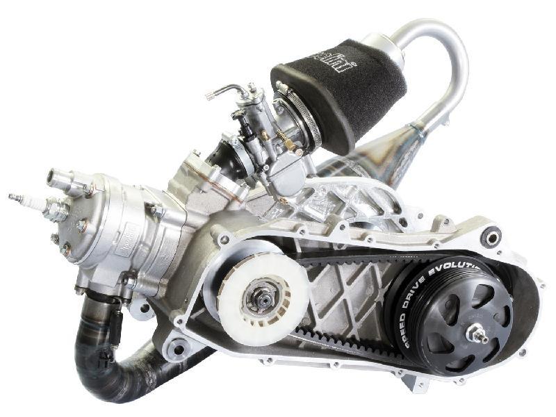 Rennmotor Polini Evolution P.R.E. 100ccm 50mm für Piaggio Zip SP ...