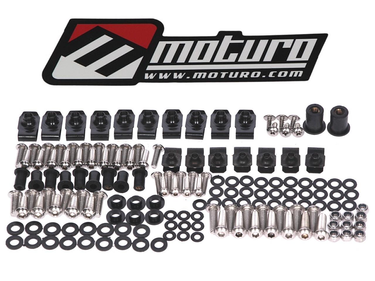 Moturo Verkleidungsschrauben Set für Ducati 749 999 Rahmen & Aufbau ...